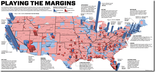 Purple America Map.More 2012 Election Maps Chart Porn