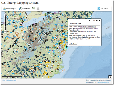Map Of All Things US Energy Chart Porn - Us energy mapping system
